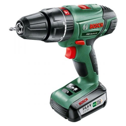 Bosch PSB 14,4 LI-2 (1 aku, 2,5 Ah) zelená