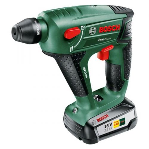 Bosch Uneo Maxx (1 aku, 2,5 Ah) zelený
