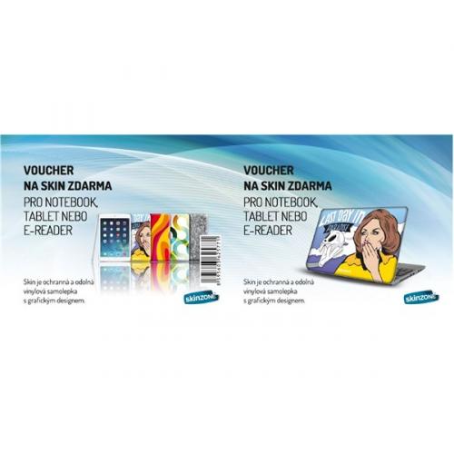 Screenshield Voucher na skin Skinzone pro Notebook a tablet CZ