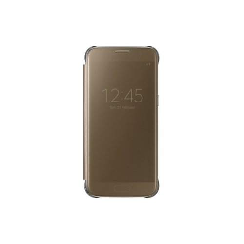 Samsung Clear View pro Galaxy S7 (EF-ZG930C) zlaté