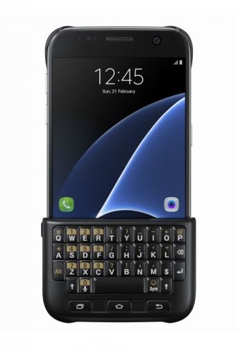Kryt na mobil Samsung s klávesnicí pro Galaxy S7 černý
