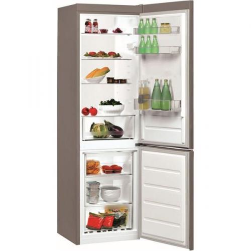 Chladnička s mrazničkou Indesit LI8 S1 X nerez