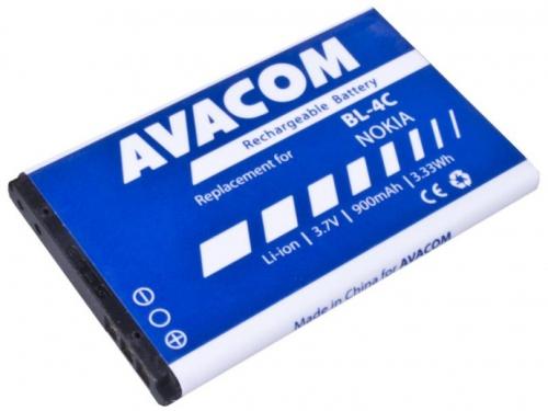 Avacom pro Nokia 6300, Li-Ion 900mAh (náhrada BL-4C)