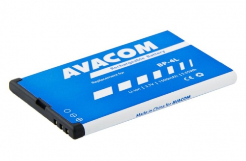 Avacom pro Nokia E55, E52, E90, Li-Ion 3,7V 1500mAh (náhrada BP-4L)