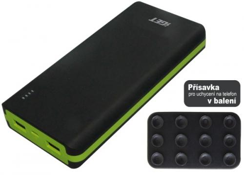iGET POWER B-20000 mAh černá/zelená