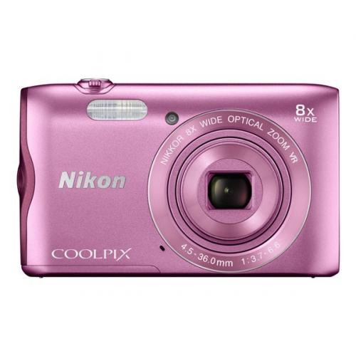 Nikon Coolpix A300 růžový ()
