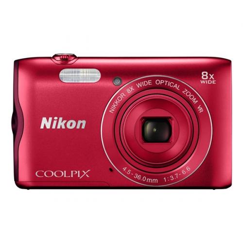 Nikon Coolpix A300 červený ()