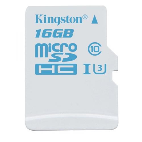 Kingston MicroSDHC 16GB UHS-I U3 (90R/45W)