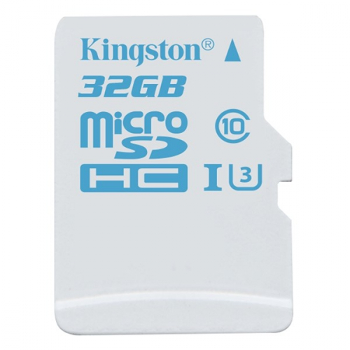 Kingston MicroSDHC 32GB UHS-I U3 (90R/45W)