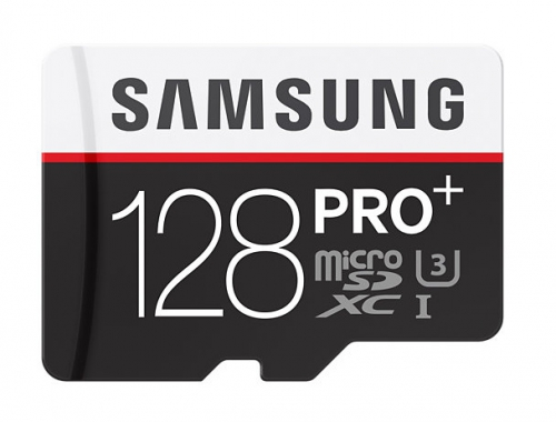 Samsung Micro SDXC PRO+ 128GB UHS-I U3 (95R/90W) + adapter