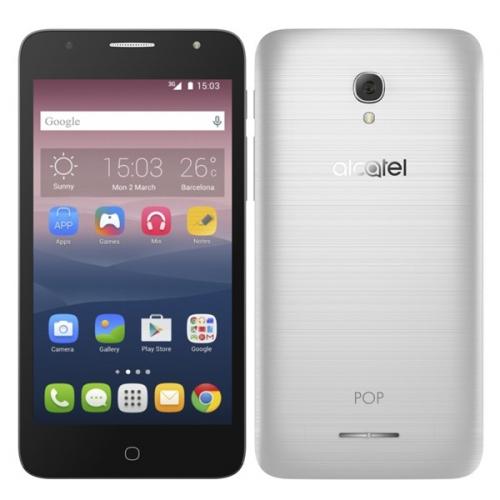 ALCATEL POP 4+ 5056D stříbrný + dárek