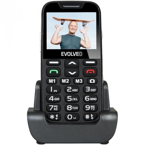 Evolveo EVOLVEO EasyPhone XD pro seniory černý