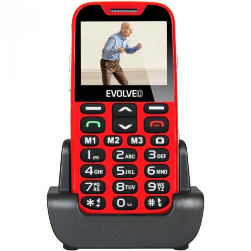 Evolveo EVOLVEO EasyPhone XD pro seniory červený