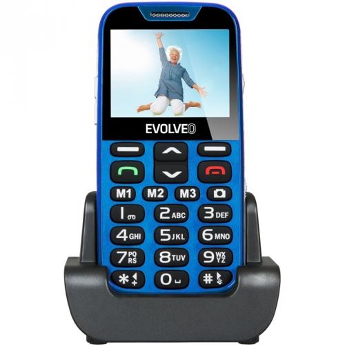 Evolveo EVOLVEO EasyPhone XD pro seniory modrý