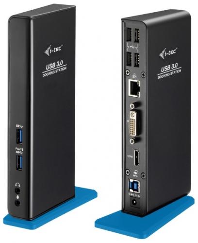 Dokovací stanice i-tec USB3.0 Dual HDMI/DVI + USB
