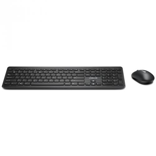Klávesnice a myš ASUS W3002 bezdrátový set klávesnice+myš, černá (zdarma)