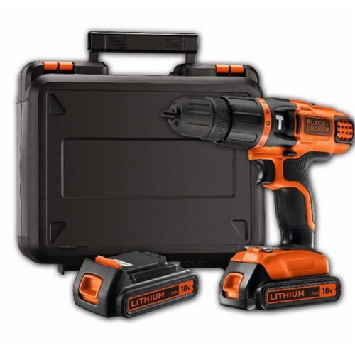 Black-Decker BDK188KB-QW, 2 aku