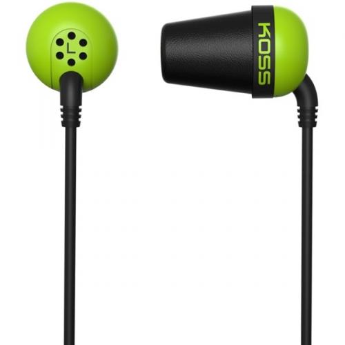 Koss The Plug (dvouletá záruka) zelená
