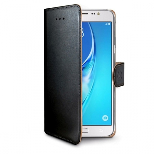Celly Wally pro Samsung Galaxy J5 (2016) černé (WALLY557)