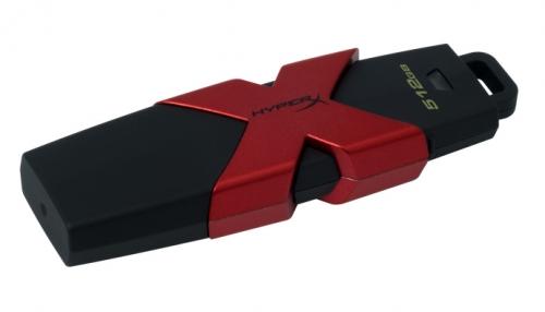 Kingston HyperX Savage 512GB USB 3.1 černý/červený