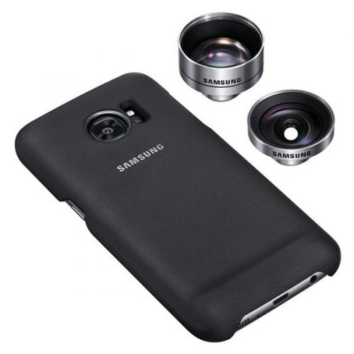 Samsung Lens Cover pro Galaxy S7 Edge (G935) černý