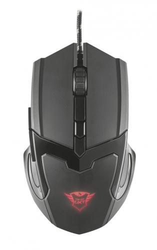 Myš Trust GXT 101 Gaming černá (/ optická / 6 tlačítek / 4800dpi)
