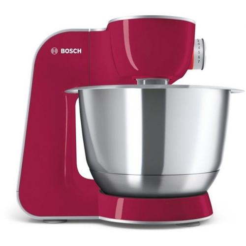 Bosch CreationLine MUM58420 stříbrný/červený