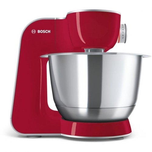 Bosch CreationLine MUM58720 stříbrný/červený