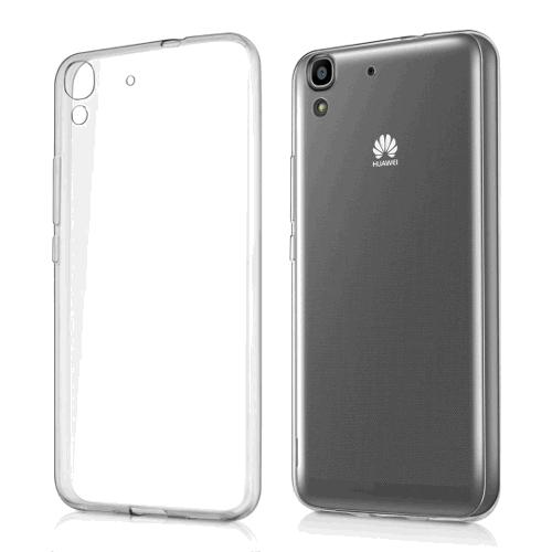 Kryt na mobil Huawei Y6 Pro průhledný