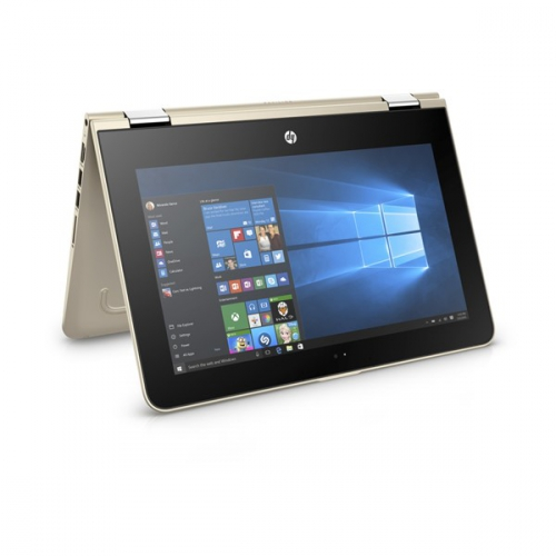 HP Pavilion x360 11-u000nc zlatý + dárky
