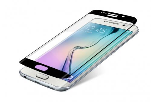 InvisibleSHIELD Glass Contour pro Samsung Galaxy S6 Edge - černý rám