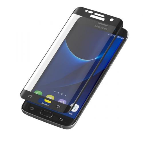 InvisibleSHIELD Glass Contour pro Samsung Galaxy S7 Edge - černý rám