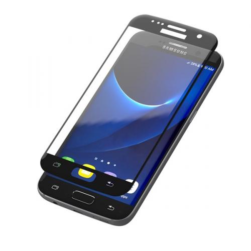 InvisibleSHIELD Glass Contour pro Samsung Galaxy S7 - černý rám