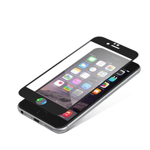InvisibleSHIELD Glass Contour pro Apple iPhone 6 / 6S - černý rám