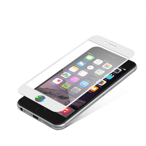 InvisibleSHIELD Glass Contour pro Apple iPhone 6 / 6S - bílý rám