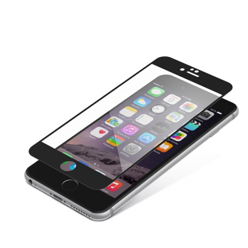 InvisibleSHIELD Glass Contour pro Apple iPhone 6 Plus / 6S Plus - černý rám