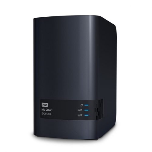 Western Digital My Cloud EX2 Ultra 4TB černé