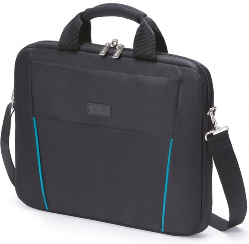 "Fotografie DICOTA Slim Case BASE 14-15.6"" černá/modrá (D30997)"