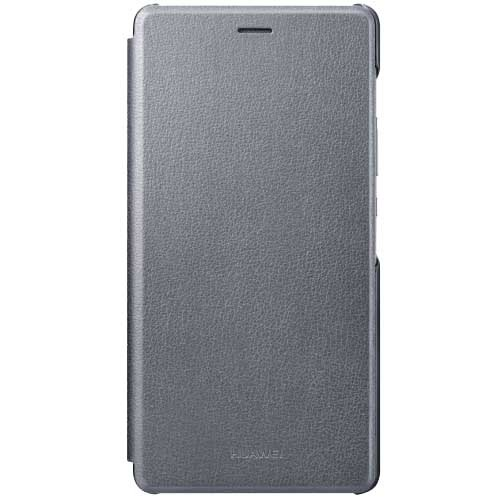 Huawei P9 Lite Flip Cover šedé (51991527)