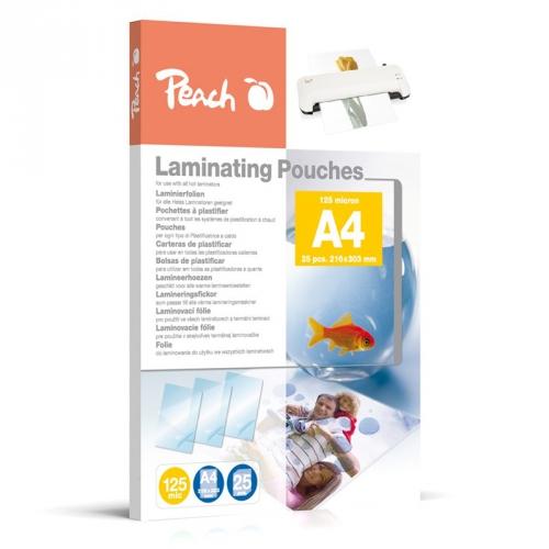 Peach A4 (216x303mm), 125mic, PPR525-02, 25pck/BAL