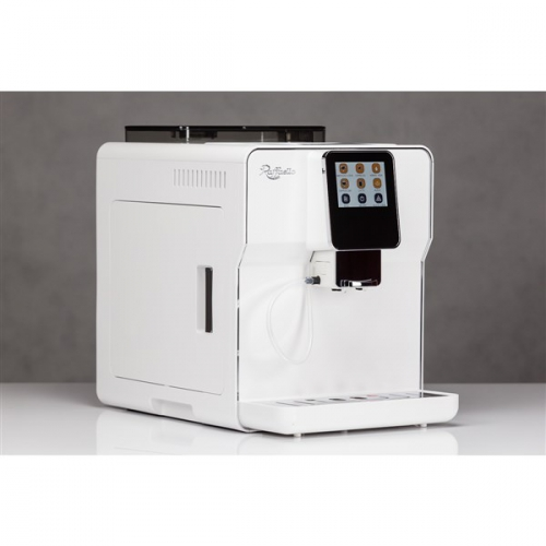 Lucaffe Raffaello Latte Plus2 White + voucher na 1,4kg zrnkové kávy bílé