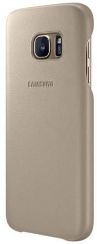 Samsung pro Galaxy S7 Edge kožené ( EF-VG935LU) béžový