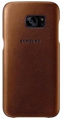 Samsung pro Galaxy S7 kožené (EF-VG930LU) béžový
