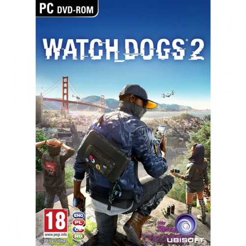 Fotografie Ubisoft PC Watch Dogs 2 (USPC07813)