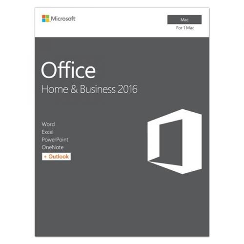 Microsoft Office Mac 2016 pro domácn. a podnikatele Eng
