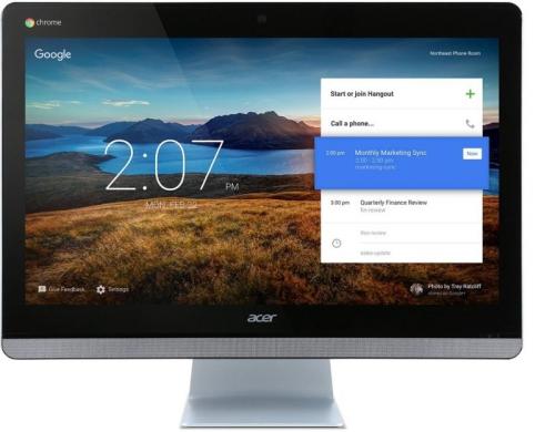 Acer Chromebase CA24I Wb3215U 65W černý/stříbrný + dárek