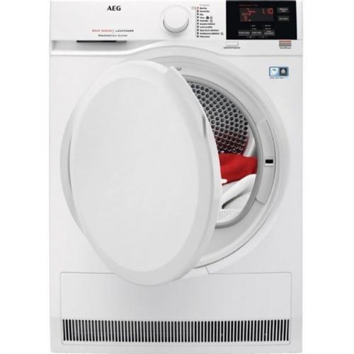 Sušička prádla AEG AbsoluteCare® T8DBG47WC bílá