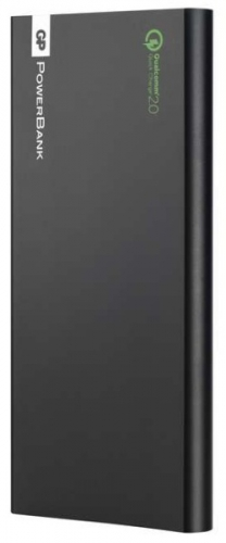 GP PowerBank FP10MB 10000mAh, s funkcí rychlonabíjení černá