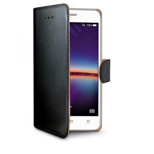 Celly Wally pro Huawei Y3 II černé (WALLY583)