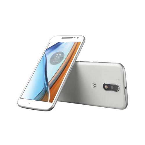Lenovo Motorola G4 Dual SIM bílý + dárky
